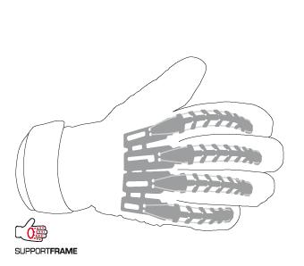 Gants - supportframe - Uhlsport