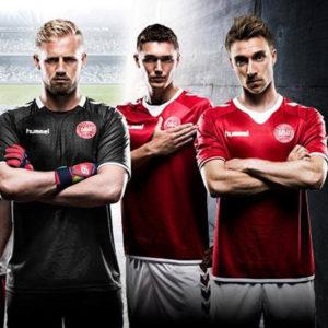 hummel est le sponsor de l'équipe de foot du danemark