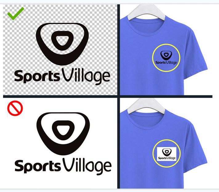 logo en format PNG pour un flocage maillot de qualité et transparent.