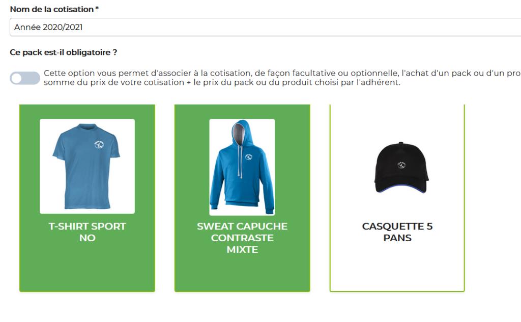 gestion association : solution de paiement en ligne de son équipement sportif et de sa cotisation